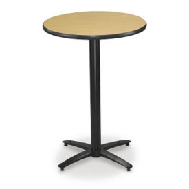 "30"" Round Bar-Height Pedestal Table, K00024"