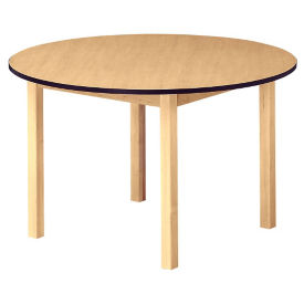 "36"" Round Wood Table 29"" High, D45171"