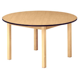 "48"" Round Wood Table 29"" High, D45175"