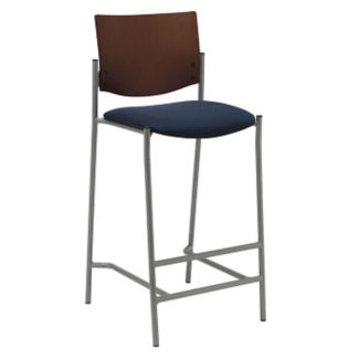 Wood Back Stool, K10052