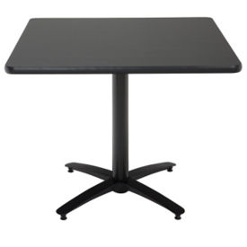 "36"" Square Cafe Pedestal Table, K00018"