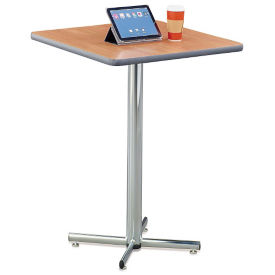 "Round Bar Height Breakroom Table - 30""DIA, T10193"