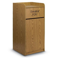 30 Gallon Trash Receptacle , R20294