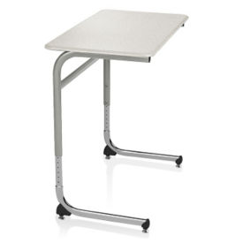ADA Adjustable Height Laminate Top Desk with Cantilever Base, J10102
