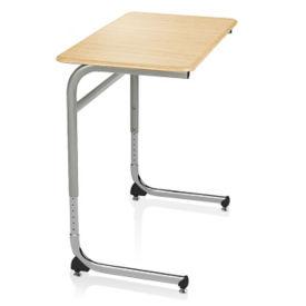 ADA Adjustable Height Hard Top Desk with Cantilever Base, J10101