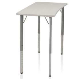 Adjustable Height Hard Plastic Top Desk, J10109