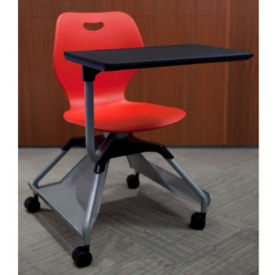 Learn2 Mobile Chair Desk with Carpet Casters, J10069