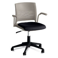 Strive Task Chair with Arms and Fabric Seat, C67749