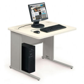 "36""W x 30""D Workzone Table Desk, J10020"