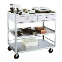 Utility Cart with 2 Drawers, B34437