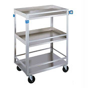 "Utility Cart with Rails 24"" x 16"" 300 lb Capacity, B34443"