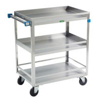 "Utility Cart with Rails 27"" x 18"" 500 lb Capacity, B34444"