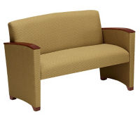 Fabric Loveseat with Arms, W60723