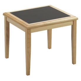 Wood Corner Table, W60296