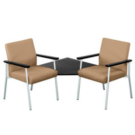 Uptown Two Seater with Corner Connecting Table, W60485