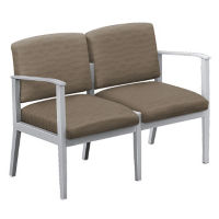 Fabric Two Seat Sofa, W60833