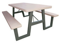 "W-Frame Folding Picnic Table - 72""W, F10328"