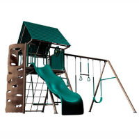 Metal Playground Set w/Clubhouse, F10268