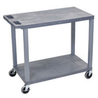 Two Shelf Utility Cart, B34691