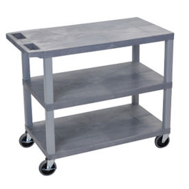 Three Shelf Utility Cart, B34695