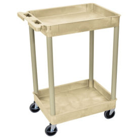 "Two Shelf Tub Cart - 37.5""H, M10004"
