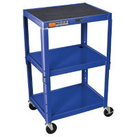 Adjustable Height AV Cart, M10005