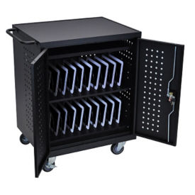 Lockable 42 Tablet Charging Cart, M10028