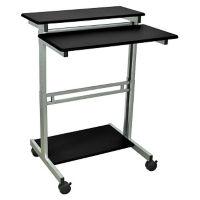 "Adjustable Height Mobile Workstation- 31.5""W, M13245"