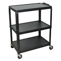 Adjustable Height AV Cart, M16314