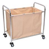 Steel Frame Laundry Cart, V21434