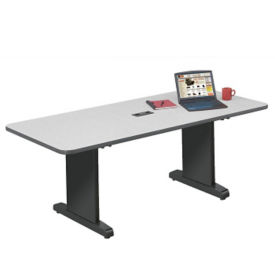 "Conference Table with Wide T-Legs – 48""D x 120""W, C90077"