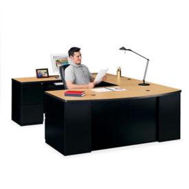 Bowfront U Desk, D35183