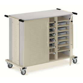 24 Capacity Notebook Cart, M13053