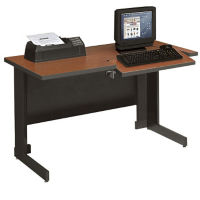 4' Computer Workstation with Keyboard Platform, E10224