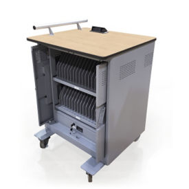 Tablet Charge Cart - Holds 32 Devices, M16362