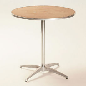 "Plywood Café Table- 30""Diameter, T10105"