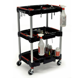 "Three Shelf Mechanics Cart - 22.75""W, V22105"