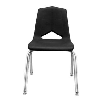 "V Back Student Chair with 14""H Chrome Frame, C70456"