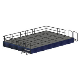 8' x 12' Rectangular Stage Set, P60349