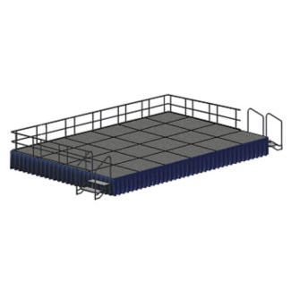12' x 20' Rectangular Stage Set, P60351