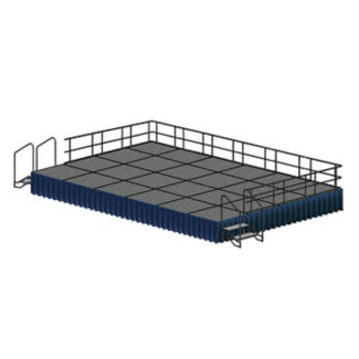 Portable Stage - 24 ft x 16 ft, P60347