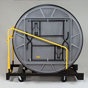 """Table Truck for 72"""" Round Table 10 Capacity, V21161"""