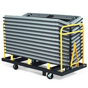 """Table Caddy 60"""" or 72"""" Tables 28 Capacity, V21164"""