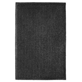 "EcoGuard Recycled Rubber Wiper Mat 24"" x 36"", W60169"