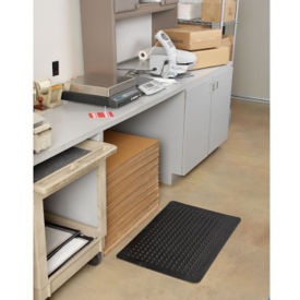"Flex Step Anti-Fatigue Recycled Rubber Podiatric Mat 36"" x 60"", W60174"