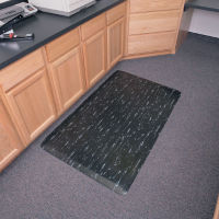 "Marble Top Anti-Fatigue Rubber Mat 24"" x 36"", W60178"