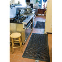 "Versa-Lite Drainage Mat with Suction Cup Backing 36""W x 60""D, W60574"
