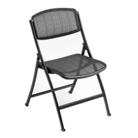 Folding Chair with Mesh Seat and Back, C52027