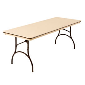 "Plastic Folding Table 30"" Wide x 72"" Long, T10280"
