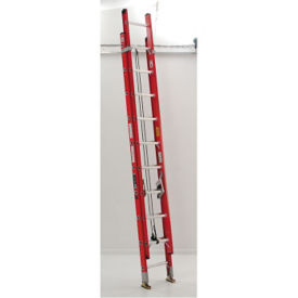 16'H Fiberglass Extension Ladder Extra Heavy Duty Type IA, V21707
